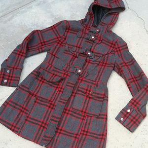 🌐darling plaid coat